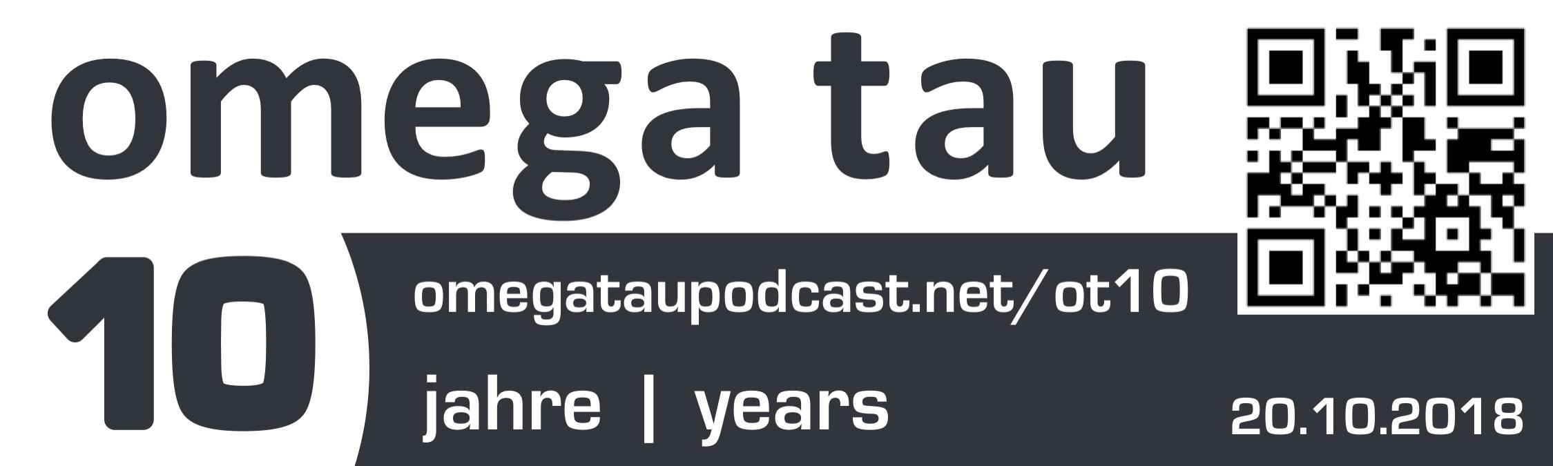 10 Jahre Omega Tau Podcast